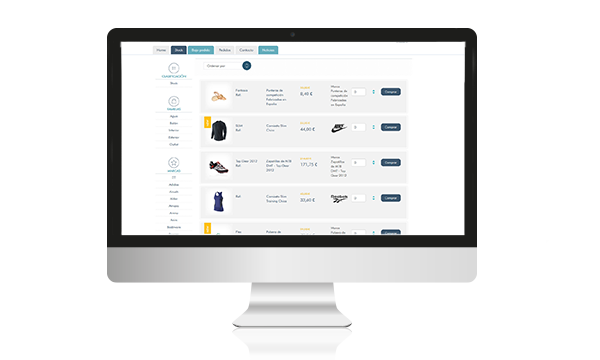 eCommerce Distribuidores - Aqua Website Studio