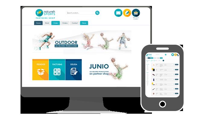Portal para Distribuidores Aqua Website